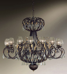 Mastery Design Chandelier With A Custom Made Design
