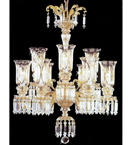 Chandelier with Hanging Crystal